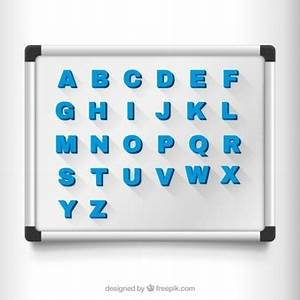 magnet vectors photos and psd files free download With magnetic letter writing board