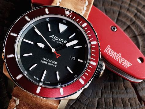Alpina Seastrong Diver 300 Automatic Watch Review