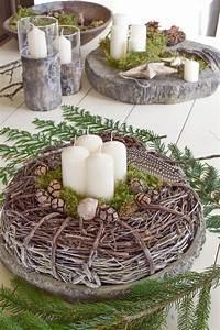 Weihnachtskranz Selber Machen : sch ne nat rliche adventskr nze 4 tolle ideen f r euch eclectic hamilton ~ Markanthonyermac.com Haus und Dekorationen