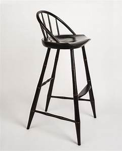 Buy a Hand Made Russell's Windsor Bar Stool, made to order