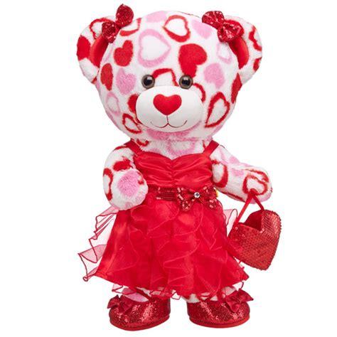 dressy darling big hearts bear build  bear workshop