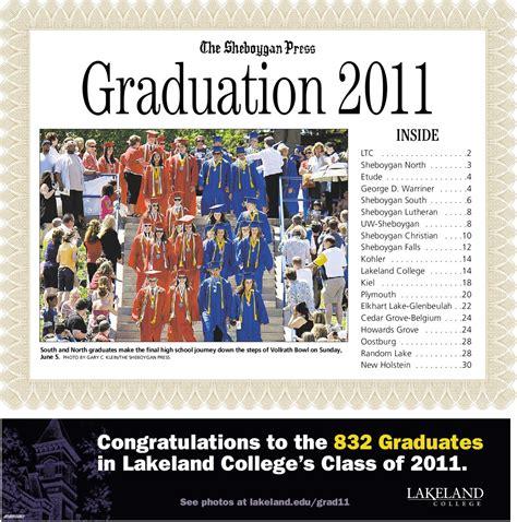 ISSUU - Sheboygan Grad TAb by Gannett Wisconsin Media