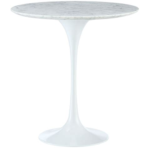 round marble top side table lippa 20 quot round marble top side table with aluminum