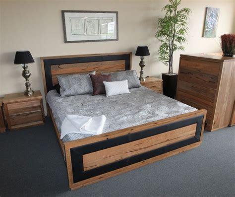 york marri timber queen bed master bedroom