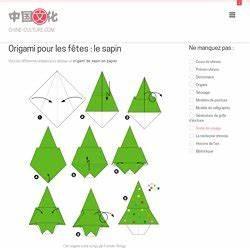 Origami Facile Noel : origami facile sapin de noel ~ Melissatoandfro.com Idées de Décoration