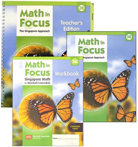Math In Focus Grade 3 Homeschool Package  2nd Semester (047804) Details  Rainbow Resource