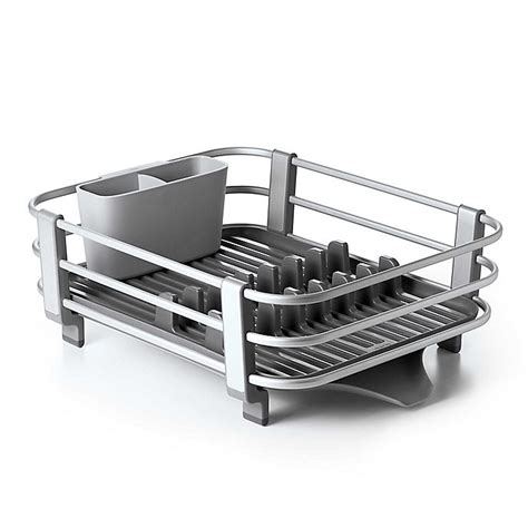 oxo good grips aluminum dish rack bed bath   canada