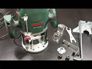 Bosch Oberfräse Pof 1200 Ae : bosch pof 1200 ae router youtube ~ Watch28wear.com Haus und Dekorationen