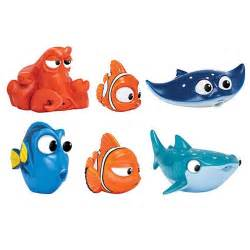 finding dory bath squirters set bandai finding nemo