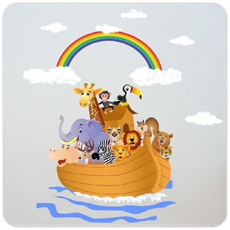 chambre bébé animaux sticker animaux arche de noé pour chambre de bébé ou d 39 enfant