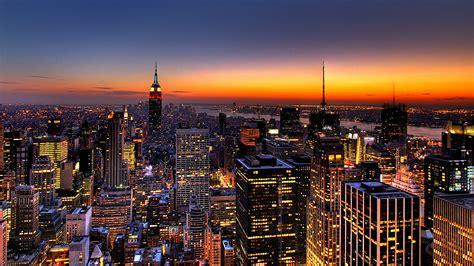 york city wallpaper  night hd wallpaper background