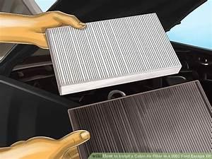 How To Install A Cabin Air Filter In A 2003 Ford Escape Xlt