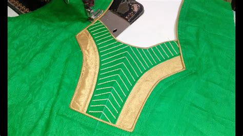 Boat Neck Ki Cutting suit back neck design cutting and stitching in