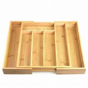 Couvert En Bambou : range couverts extensible en bois de bambou ~ Teatrodelosmanantiales.com Idées de Décoration