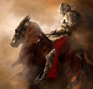 Knight On Horse   Knight - abstract, knight, warrior ...