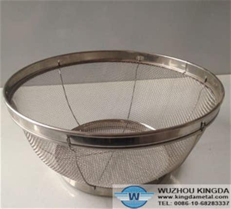 stainless steel wire mesh bowlstainless steel wire mesh bowl manufacturer wuzhou kingda wire