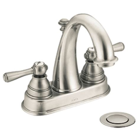 moen kingsley 2 handle bathroom faucet moen 6121bn kingsley two handle centerset lavatory faucet