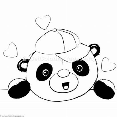 Panda Coloring Pages Getcoloringpages