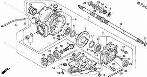 Honda Atv 1997 Oem Parts Diagram For Rear Final Gear