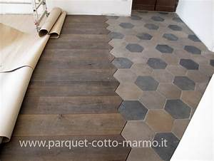 recovery cementine old parquet inlay tiles pinterest With parquet récupération