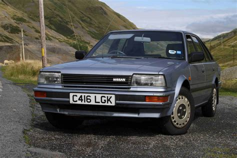 nissan bluebird 1986 nissan bluebird 2 0slx road test youtube
