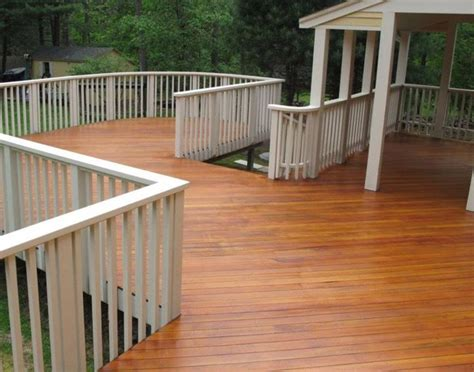 douglas fir wood  custom stain seal  deck douglas