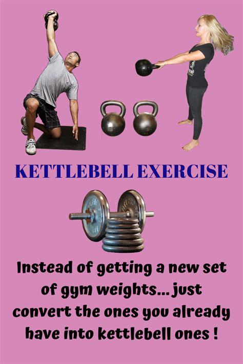 dumbbells kettlebell barbell into