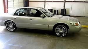 Rimtyme Jonesboro Ga  2001 Mercury Grand Marquis On 22 U0026quot  Pinnacle Silo Wheels And Lexani Tires