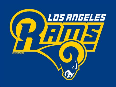 los angeles rams brand discussion page  sports logos