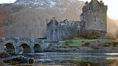 Castle Donan Eilean Castles Wallpapers Outlander Ancient