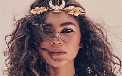 Zendaya Coleman Wallpapers Rizado Cabello Face Desktop