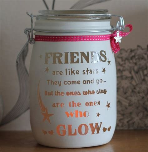 personalised glass candle jar memory jar friends