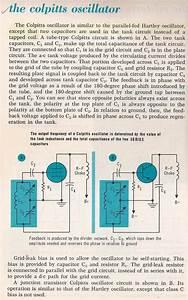 Bias Berechnen : oscillators 020 the colpitts oscillator larry e gugle ~ Themetempest.com Abrechnung