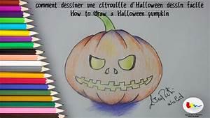 Dessin Facile Halloween : comment dessiner une citrouille d 39 halloween dessin facile ~ Melissatoandfro.com Idées de Décoration