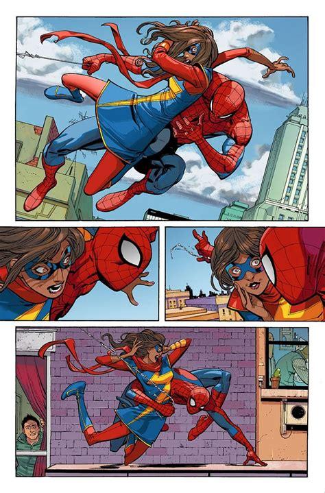 preview amazing spider man 7 peter meets kamala khan
