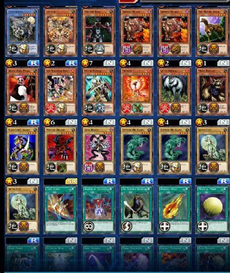 yugioh deck duel links beast warrior deck yu gi oh duel links amino