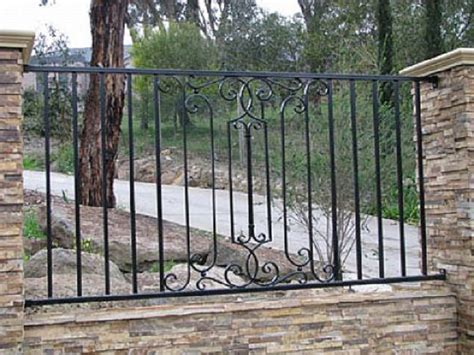 wrought iron fence styles bedroom decorating ideas cheap wrought iron fences and