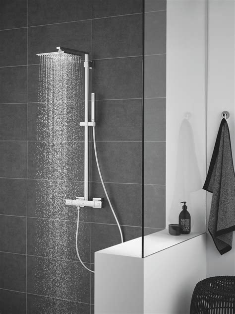 euphoria shower euphoria system 152 shower system with thermostatic mixer