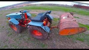 Full Video Pasquali 986 Off U0026 39 Road Proba Freza  Mini Tractor