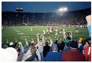 Notre Dame Stadium Row Chart Notre Dame Stadium Interactive Seating Chart