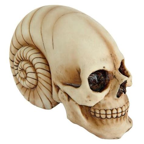 cout   world alien skull statue cl design