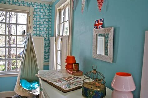 diary lifestyles girls room aqua blue red