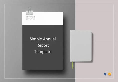annual report templates  word  apple pages