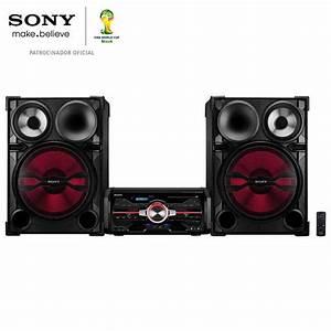 Mini System Sony Genezi Fst  Mp3  Usb Duplo E