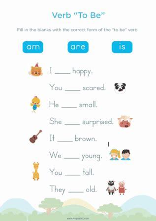 verb    images english worksheets  kids