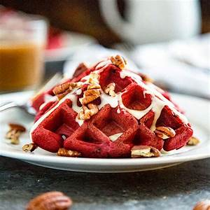 red velvet waffle recipe from scratch
