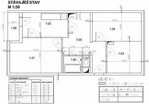 Panelový byt 3+1 půdorys