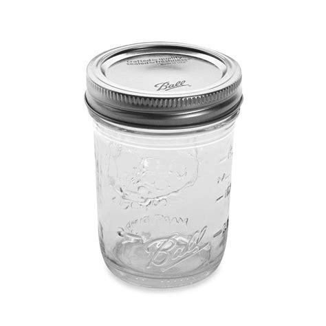 Ball Canning Jars   Half Pint (Set of 12) in Canning Supplies