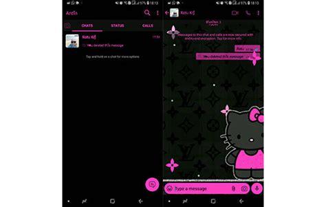 tema whatsapp  kitty terbaru lucu  cantik