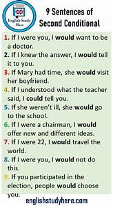 9, Sentences, Of, Second, Conditional, 9, Example, Sentences